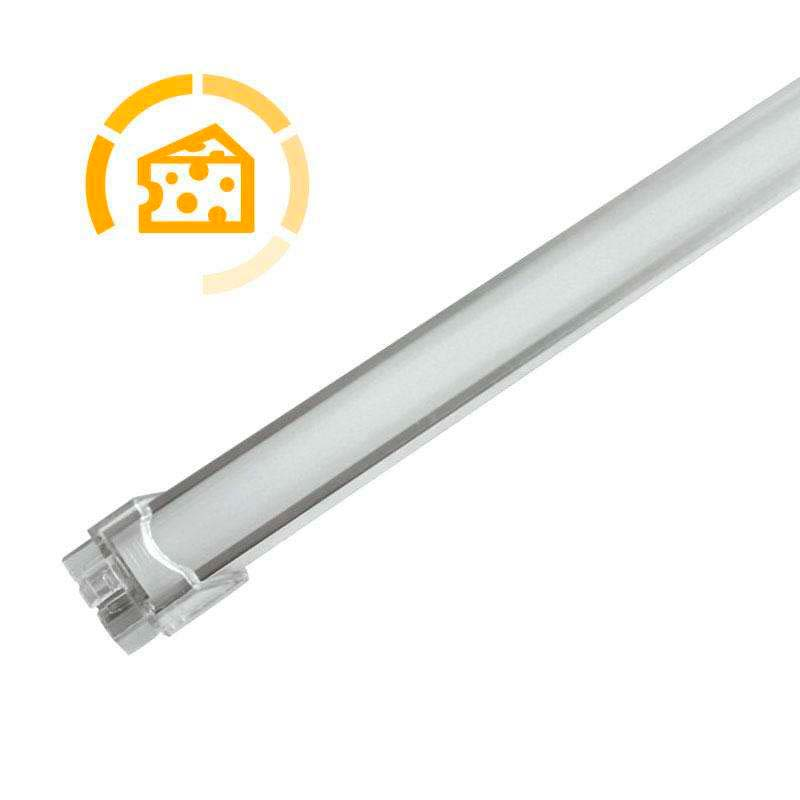 Barra LED Profresh, 18W, 116cm, Quesos y fiambres, Blanco cálido